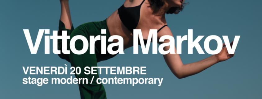 Stage Modern con Vittoria Markov